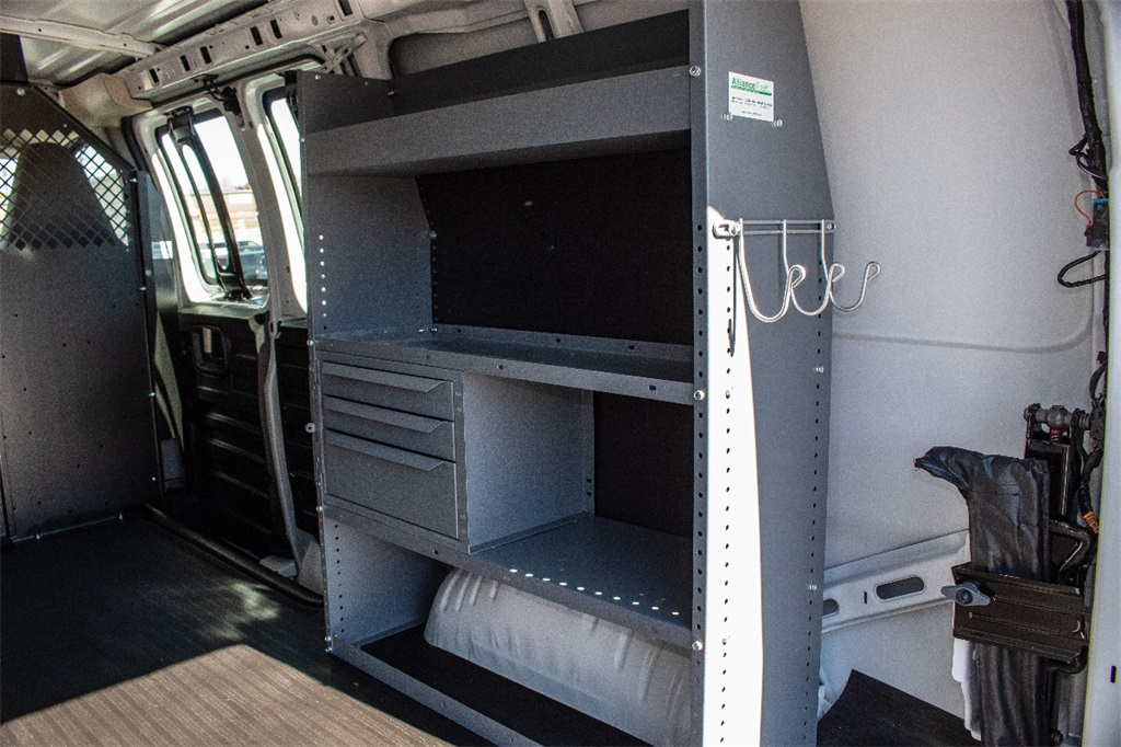 2018 Express 2500 4x2,  Masterack Upfitted Cargo Van #FK9073 - photo 7