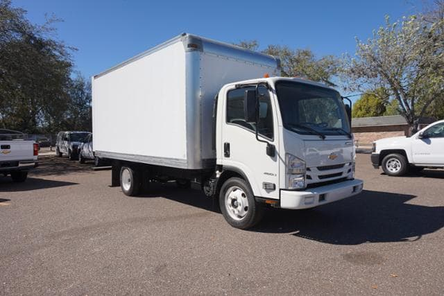 2017 Low Cab Forward Regular Cab 4x2,  C & S Commercial Truck and Van Equipment Dry Freight #7C1699 - photo 4