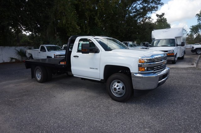 2018 Silverado 3500 Regular Cab DRW 4x2,  CM Truck Beds RD Model Platform Body #8C1028 - photo 5