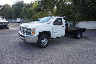 2018 Silverado 3500 Regular Cab DRW 4x2,  CM Truck Beds RD Model Platform Body #8C1028 - photo 4