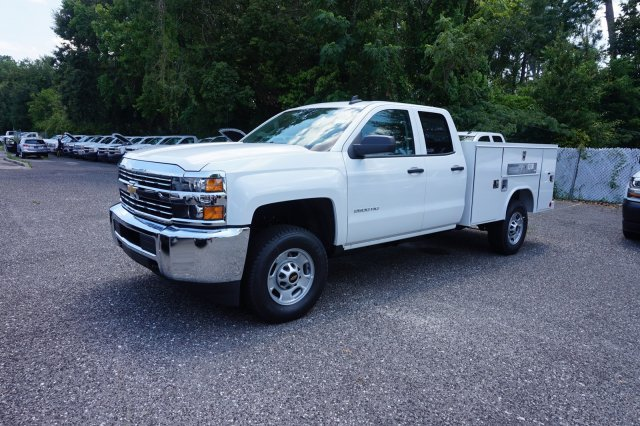 2018 Silverado 2500 Double Cab 4x4,  Reading SL Service Body #8C1175 - photo 3