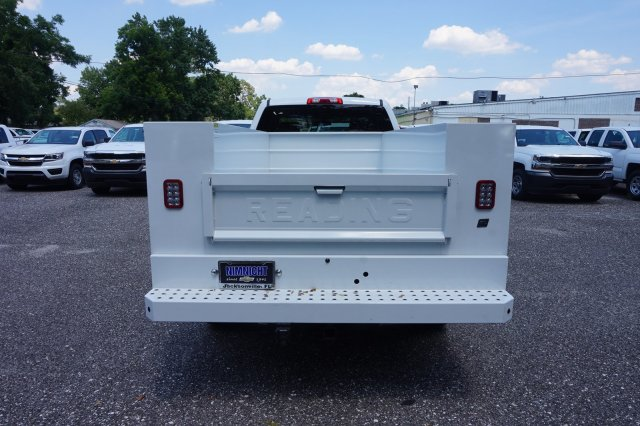2018 Silverado 2500 Double Cab 4x4,  Reading SL Service Body #8C1175 - photo 2