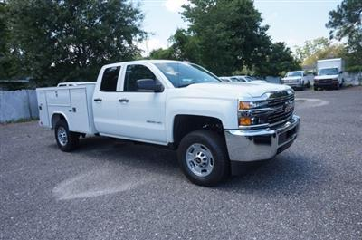 2018 Silverado 2500 Double Cab 4x4,  Reading SL Service Body #8C1175 - photo 4