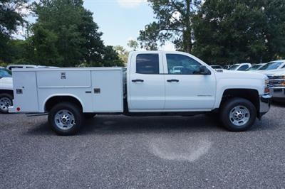 2018 Silverado 2500 Double Cab 4x4,  Reading SL Service Body #8C1175 - photo 5