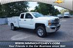 2018 Silverado 2500 Double Cab 4x4,  Reading SL Service Body #8C1175 - photo 1