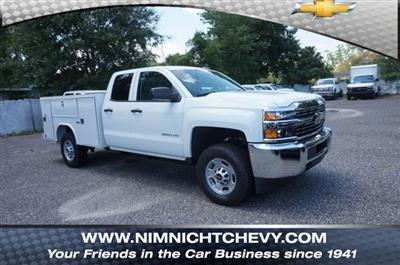 2018 Silverado 2500 Double Cab 4x4,  Reading SL Service Body #8C1176 - photo 1