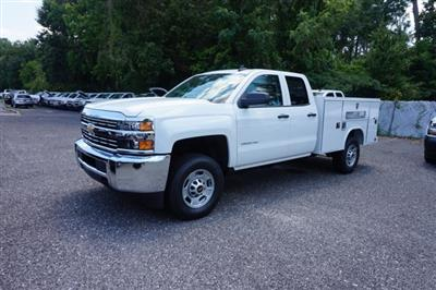 2018 Silverado 2500 Double Cab 4x4,  Reading SL Service Body #8C1176 - photo 3
