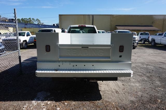 2018 Silverado 3500 Regular Cab DRW 4x4,  Reading Service Body #8C206 - photo 2