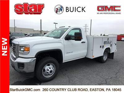 New 2017 Gmc Sierra 3500 Regular Cab Service Body For Sale In