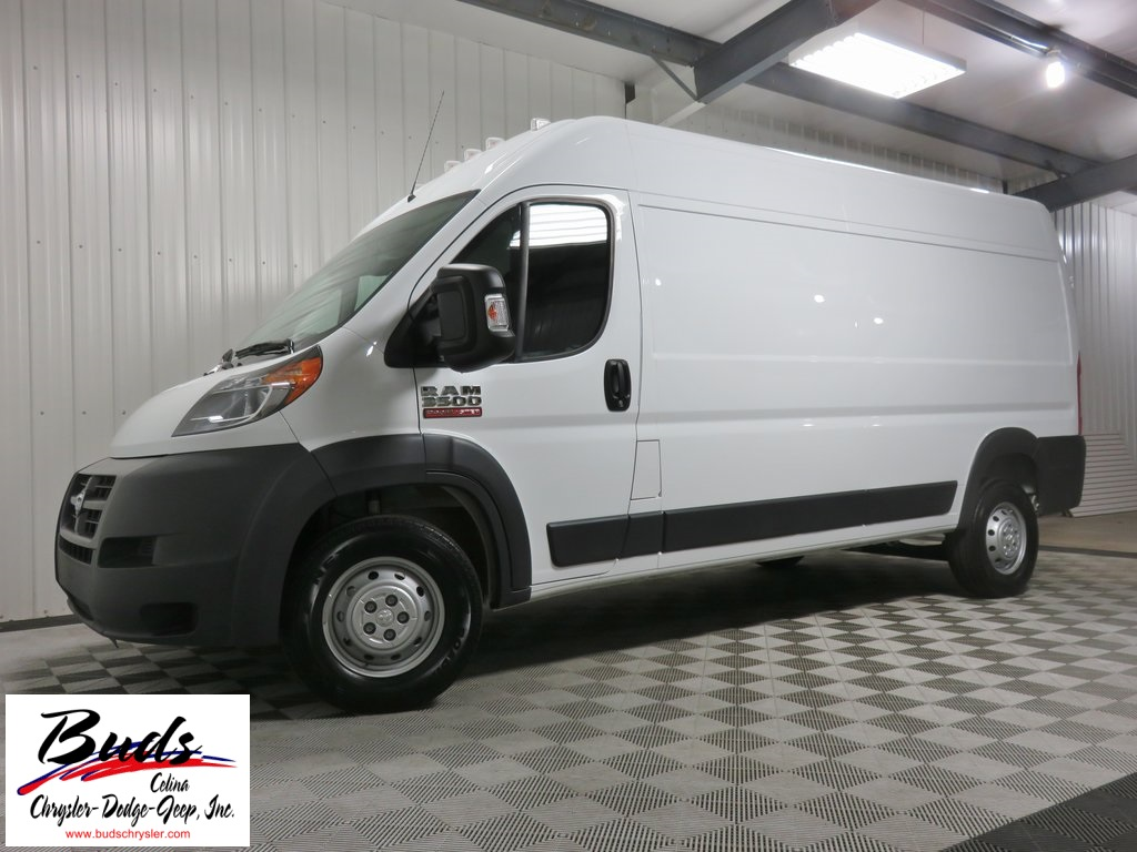 New 2017 ram promaster 3500 cargo van for sale in celina oh