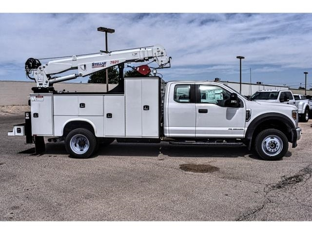2018 F-550 Super Cab DRW 4x4, Knapheide Mechanics Trucks Mechanics Body #854292 - photo 3