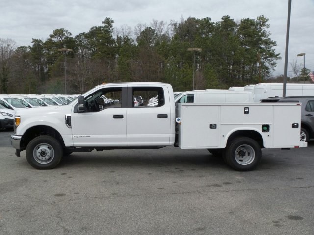 2017 F-350 Crew Cab DRW 4x4, Service Body #HEB81199 - photo 3