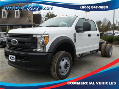 2017 F-550 Crew Cab DRW 4x4 Cab Chassis #HEE34430 - photo 1