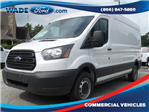 2017 Transit 250 Medium Roof, Cargo Van #HKA24644 - photo 1
