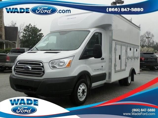 2018 Transit 350 HD DRW 4x2,  Rockport Service Utility Van #JKA21756 - photo 24