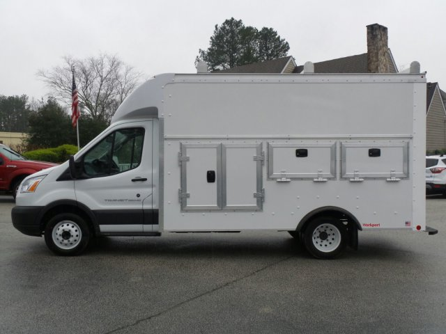2018 Transit 350 HD DRW 4x2,  Rockport Service Utility Van #JKA21756 - photo 3