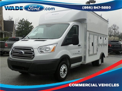 2018 Transit 350 HD DRW, Service Utility Van #JKA21756 - photo 1