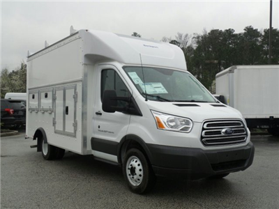 2018 Transit 350 HD DRW, Service Utility Van #JKA21756 - photo 11