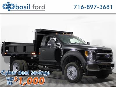 2018 F-350 Regular Cab DRW 4x4,  Air-Flo Pro-Class Dump Body #180708TZ - photo 1