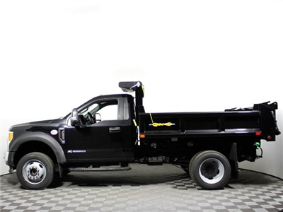2018 F-350 Regular Cab DRW 4x4,  Air-Flo Pro-Class Dump Body #180708TZ - photo 5