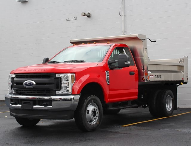 2019 F-350 Regular Cab DRW 4x4,  TruckCraft Dump Body #190128TZ - photo 4