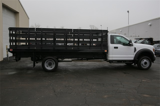 2019 F-550 Regular Cab DRW 4x2,  Knapheide Stake Bed #190142TZ - photo 2