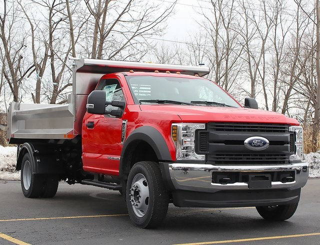 2019 F-550 Regular Cab DRW 4x4,  Air-Flo Dump Body #190146TZ - photo 3