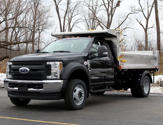 2019 F-550 Regular Cab DRW 4x4,  Air-Flo Dump Body #190152TZ - photo 6