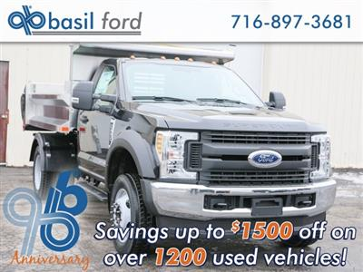 2019 F-550 Regular Cab DRW 4x4,  Air-Flo Pro-Class Dump Body #190192TZ - photo 1