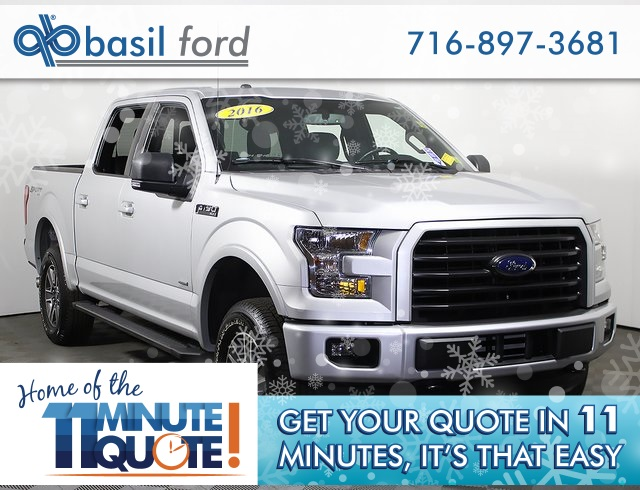 2016 F-150 SuperCrew Cab 4x4,  Pickup #P2602 - photo 1