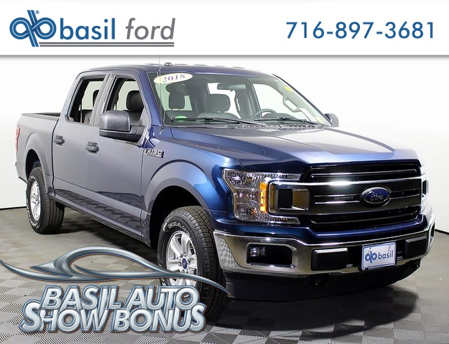 2018 F-150 SuperCrew Cab 4x4,  Pickup #R2655 - photo 1