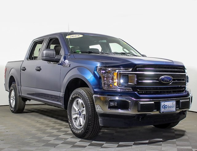 2018 F-150 SuperCrew Cab 4x4,  Pickup #R2655 - photo 3