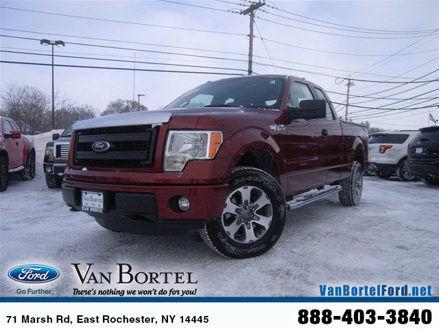 2014 F-150 Super Cab 4x4, Pickup #X7417 - photo 1