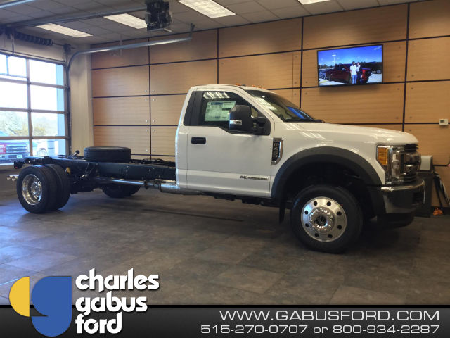 New 2017 Ford F 450 Regular Cab Cab Chassis For Sale In