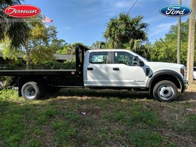2018 F-450 Crew Cab DRW 4x2,  Knapheide Value-Master X Platform Body #18F519 - photo 3