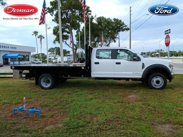 2018 F-450 Crew Cab DRW 4x2,  Knapheide Platform Body #18F845 - photo 3