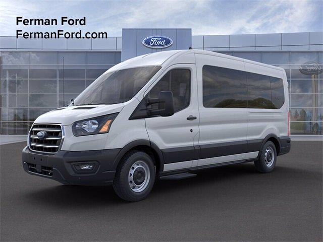 2020 Ford Transit 350 Med Roof RWD, Passenger Wagon #20F1001 - photo 1
