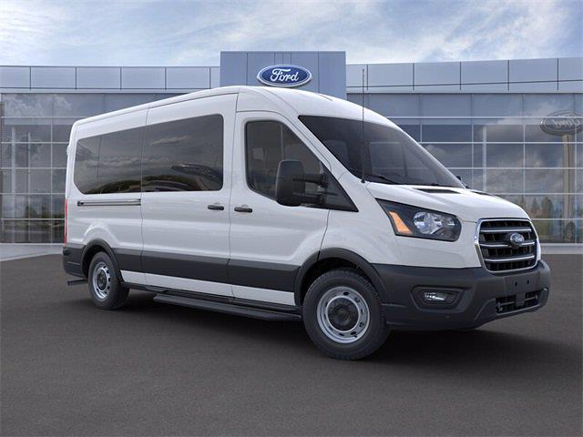 2020 Ford Transit 350 Med Roof RWD, Passenger Wagon #20F1003 - photo 1