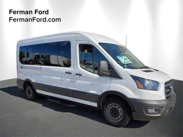 2020 Ford Transit 350 Med Roof RWD, Passenger Wagon #20F244 - photo 1
