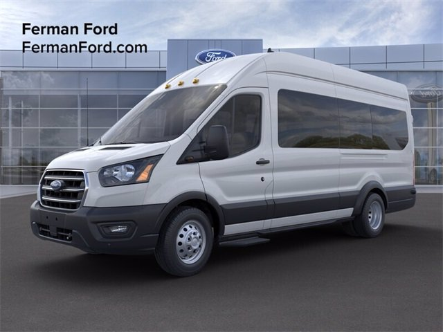 2020 Ford Transit 350 HD High Roof DRW RWD, Passenger Wagon #20F685 - photo 1