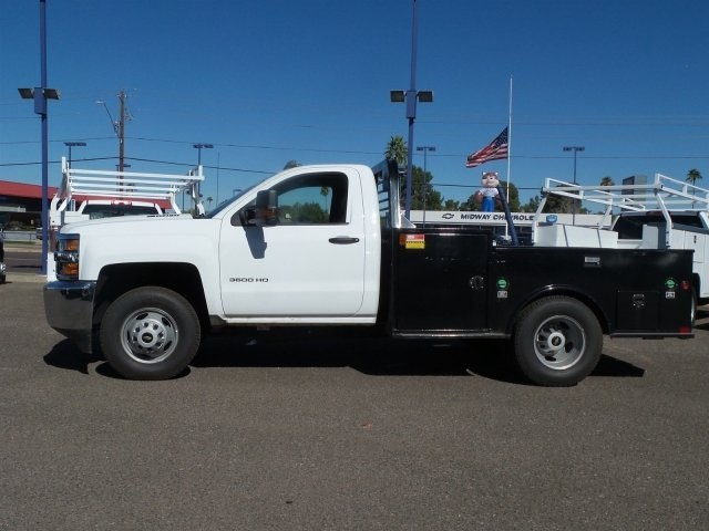 2015 Silverado 3500 Regular Cab 4x4, Service Body #FF675129 - photo 5