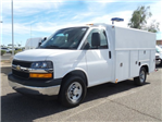 2017 Express 3500, Harbor Service Utility Van #H1101517 - photo 1