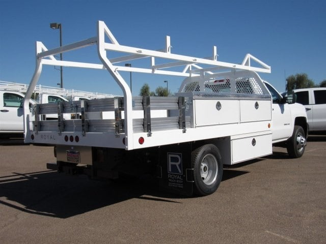 2017 Silverado 3500 Regular Cab, Royal Contractor Bodies Contractor Body #HF180282 - photo 5