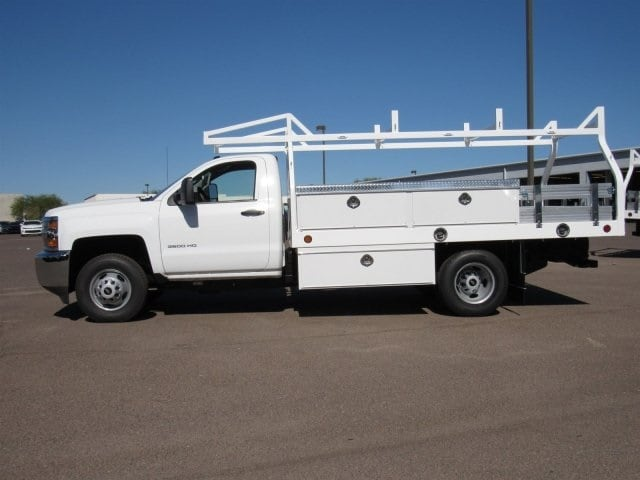 2017 Silverado 3500 Regular Cab, Royal Contractor Bodies Contractor Body #HF180282 - photo 7
