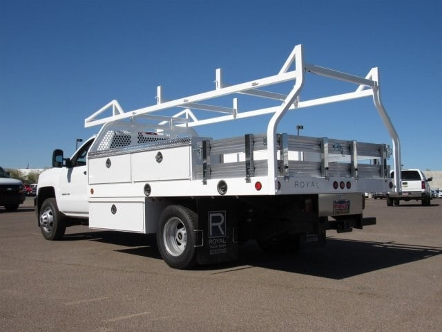 2017 Silverado 3500 Regular Cab DRW, Royal Contractor Bodies Contractor Body #HF180282 - photo 2