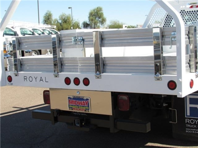 2017 Silverado 3500 Regular Cab DRW, Royal Contractor Bodies Contractor Body #HF180282 - photo 6
