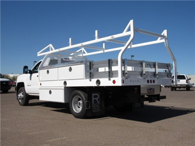 2017 Silverado 3500 Regular Cab, Royal Contractor Bodies Contractor Body #HF180282 - photo 2