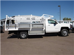 2017 Silverado 3500 Regular Cab DRW, Royal Contractor Bodies Contractor Body #HF180282 - photo 4