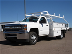 2017 Silverado 3500 Regular Cab DRW, Royal Contractor Bodies Contractor Body #HF180282 - photo 1