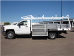 2017 Silverado 3500 Regular Cab, Royal Contractor Bodies Contractor Body #HF180282 - photo 8